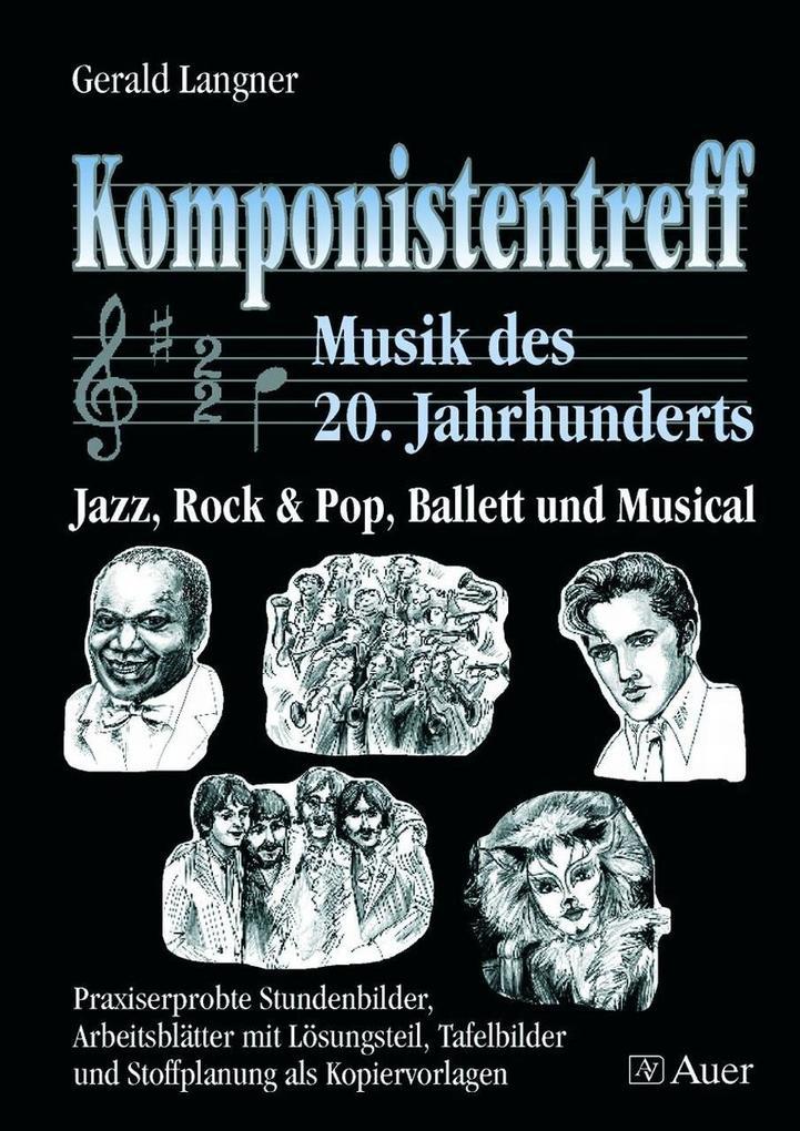 Komponistentreff - Musik des 20. Jahrhunderts als Buch