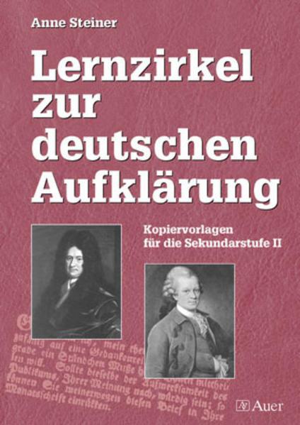 Lernzirkel zur deutschen Aufklärung als Buch