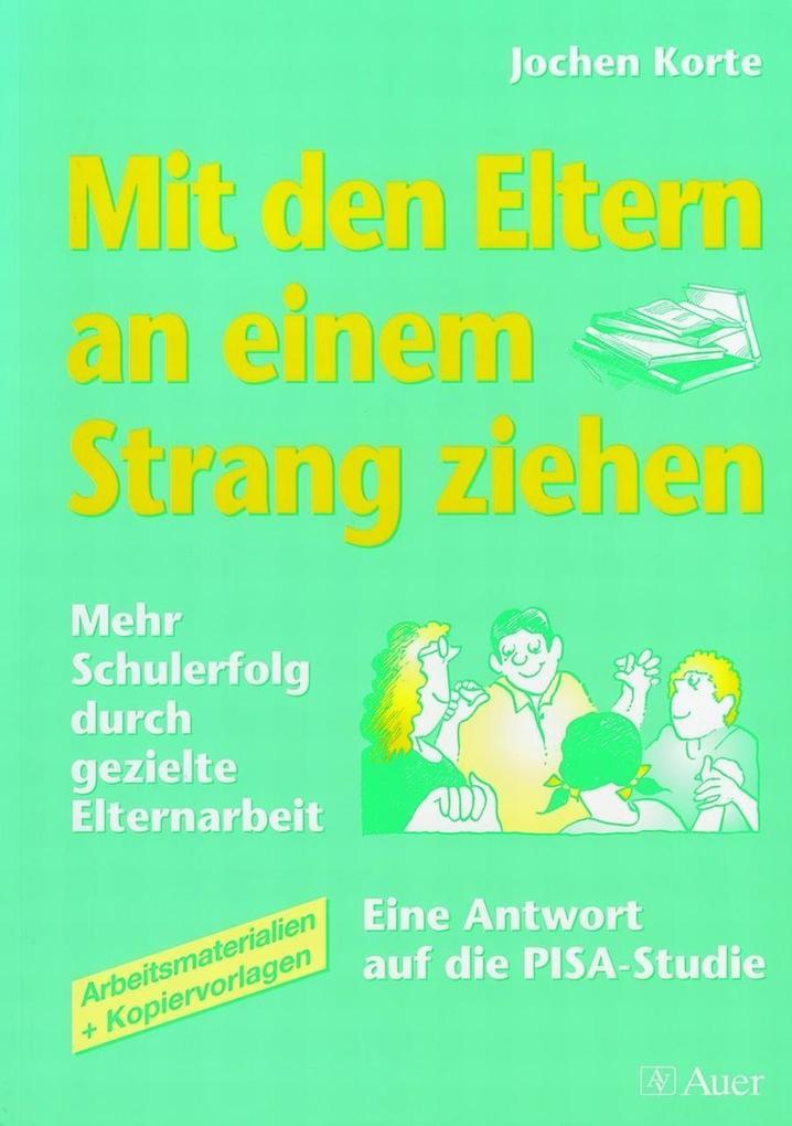 Mit den Eltern an einem Strang ziehen als Buch