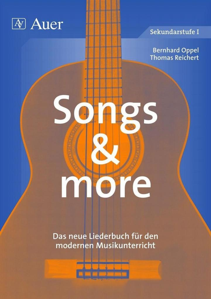 Songs and more als Buch