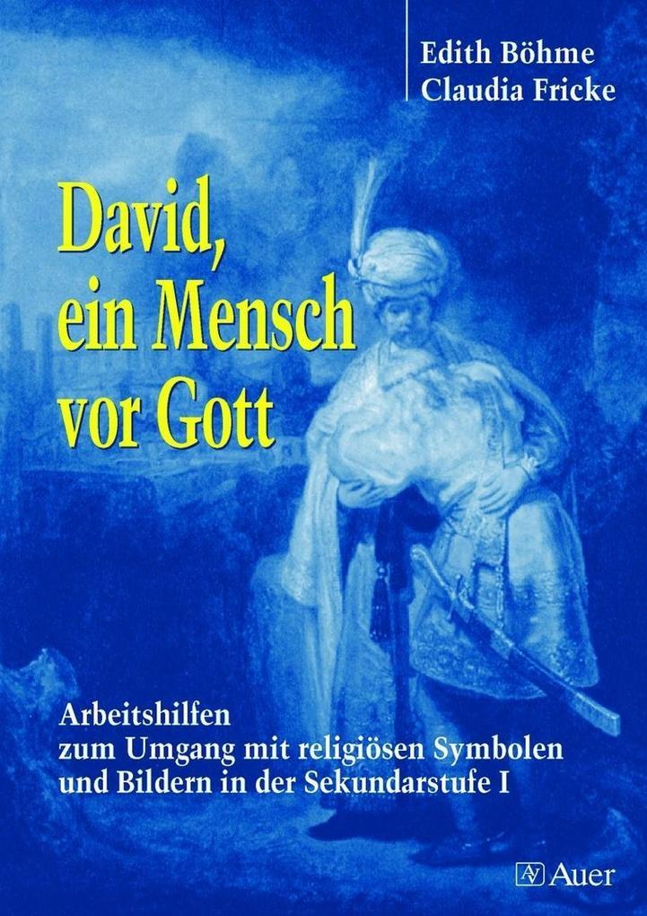 David, ein Mensch vor Gott als Buch