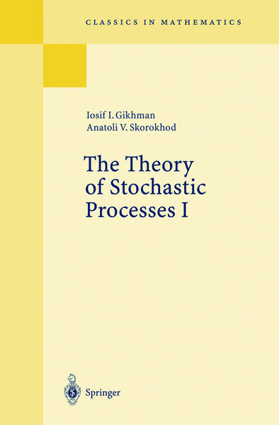 The Theory of Stochastic Processes I als Buch
