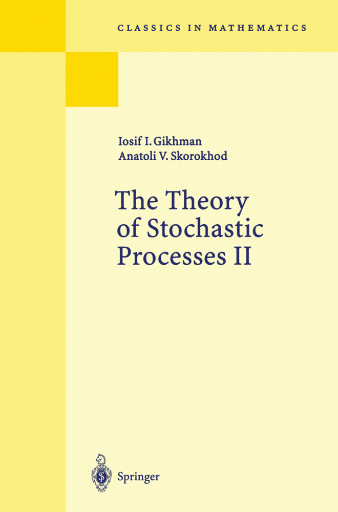 The Theory of Stochastic Processes II als Buch