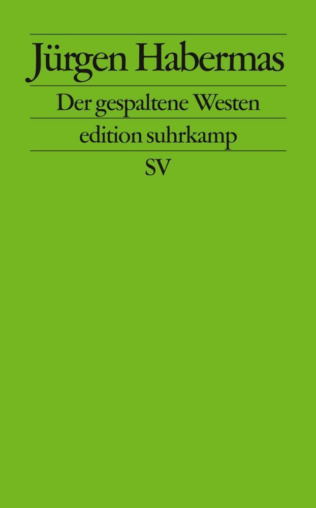 Der gespaltene Westen als Taschenbuch