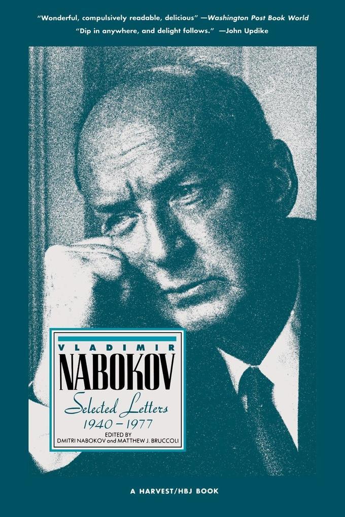 Vladimir Nabokov: Selected Letters 1940-1977 als Taschenbuch