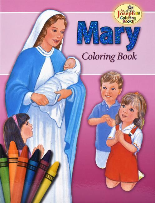 Coloring Book about Mary als Taschenbuch
