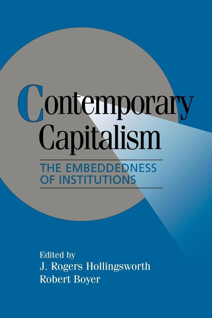 Contemporary Capitalism als Buch