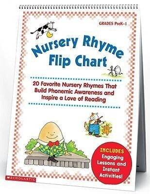 Nursery Rhyme Flip Chart: 20 Favorite Nursery Rhymes That Build Phonemic Awareness and Inspire a Love of Reading als Taschenbuch
