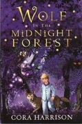 Wolf in the Midnight Forest
