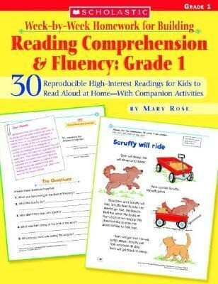 Week-By-Week Homework for Building Reading Comprehension & Fluency: Grade 1: 30 Reproducible High-Interest Readings for Kids to Read Aloud at Home--Wi als Taschenbuch