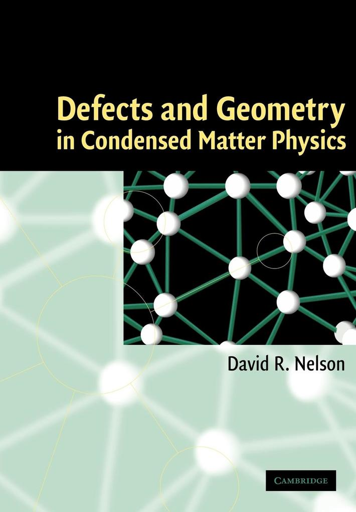 Defects and Geometry in Condensed Matter Physics als Buch