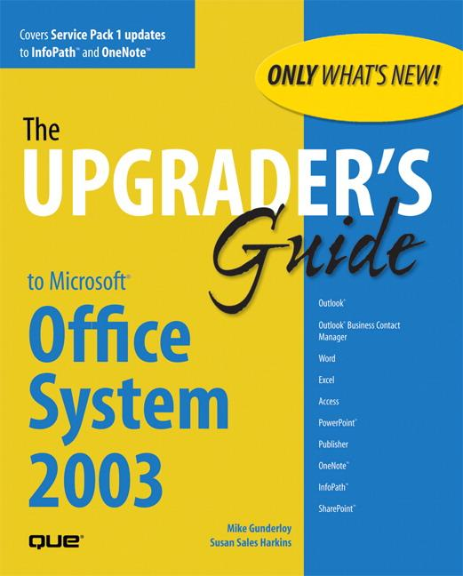 Upgrader's Guide to Microsoft Office System 2003 als Buch