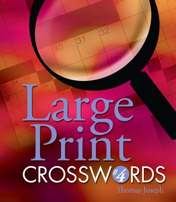 Large Print Crosswords #4 als Taschenbuch