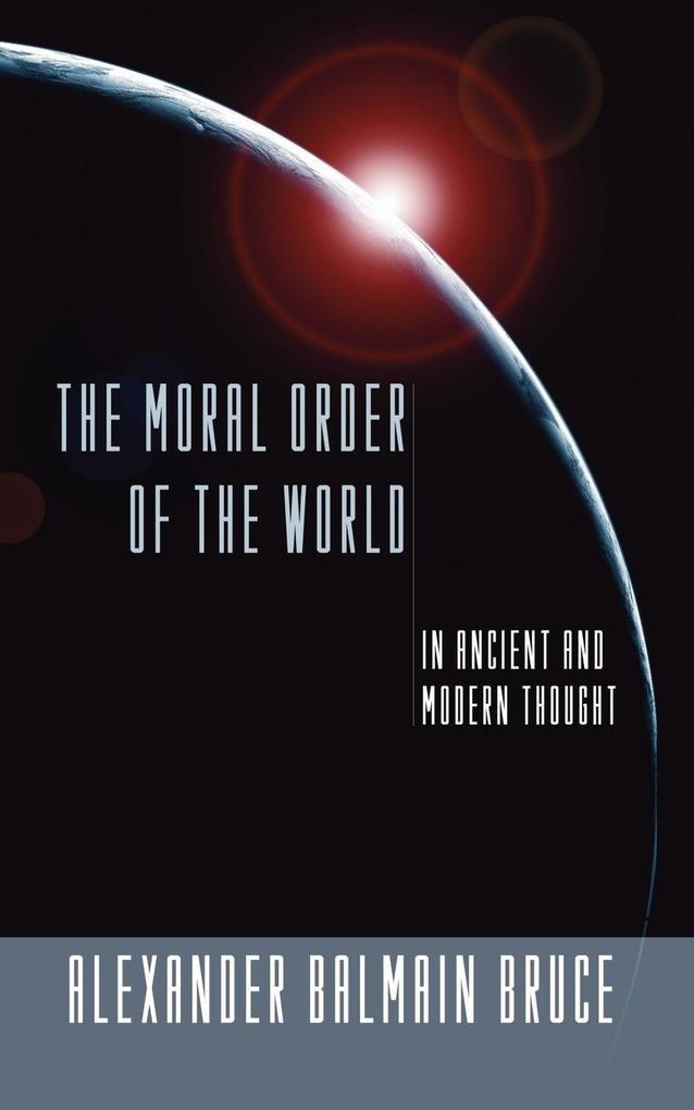 Moral Order of the World als Taschenbuch