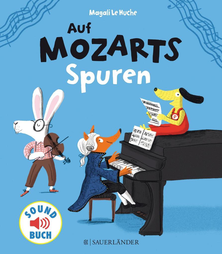 Auf Mozarts Spuren als Buch