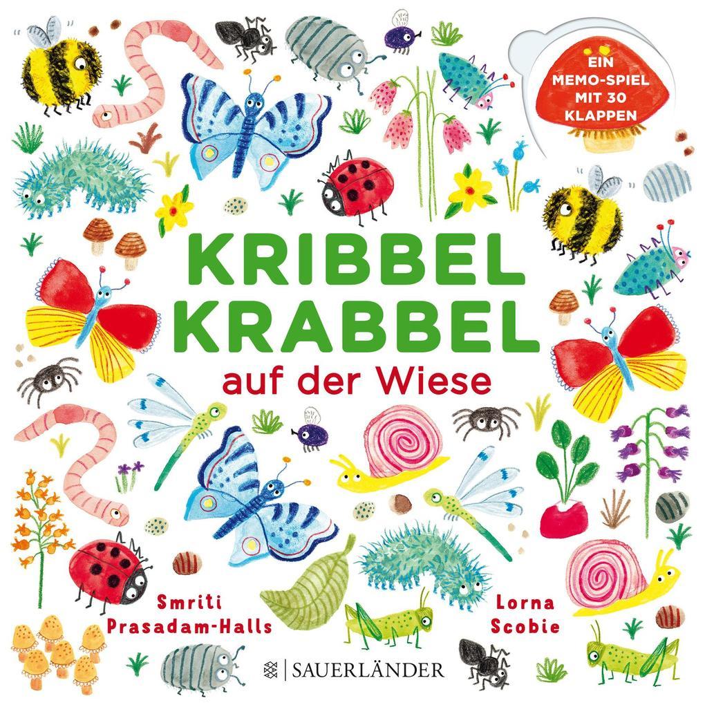 Kribbel Krabbel auf der Wiese als Buch