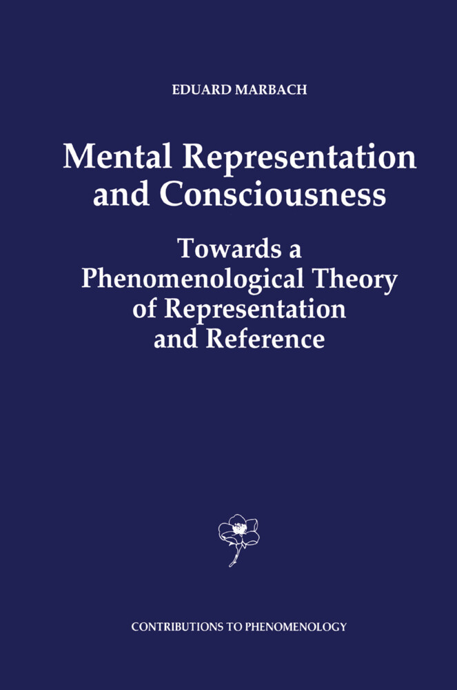 Mental Representation and Consciousness als Buch