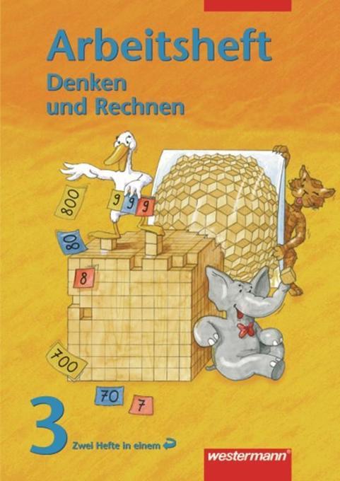 Denken und Rechnen 3. Arbeitsheft. Berlin, Brandenburg, Mecklenburg-Vorpommern, Sachsen-Anhalt, Thüringen als Buch