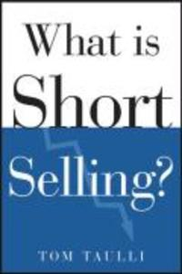 What Is Short Selling? als Buch