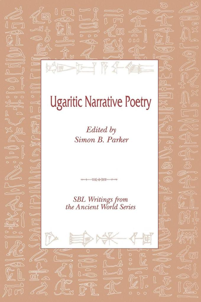 Ugaritic Narrative Poetry als Buch