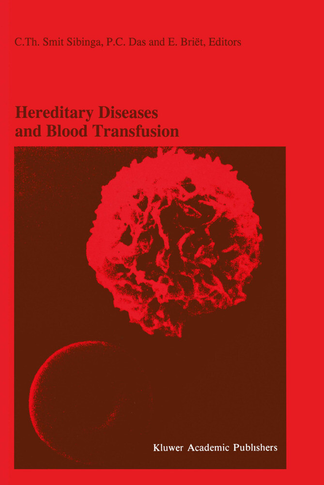 Hereditary Diseases and Blood Transfusion als Buch