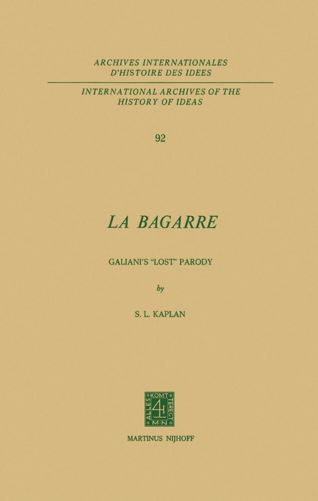 La Bagarre als Buch