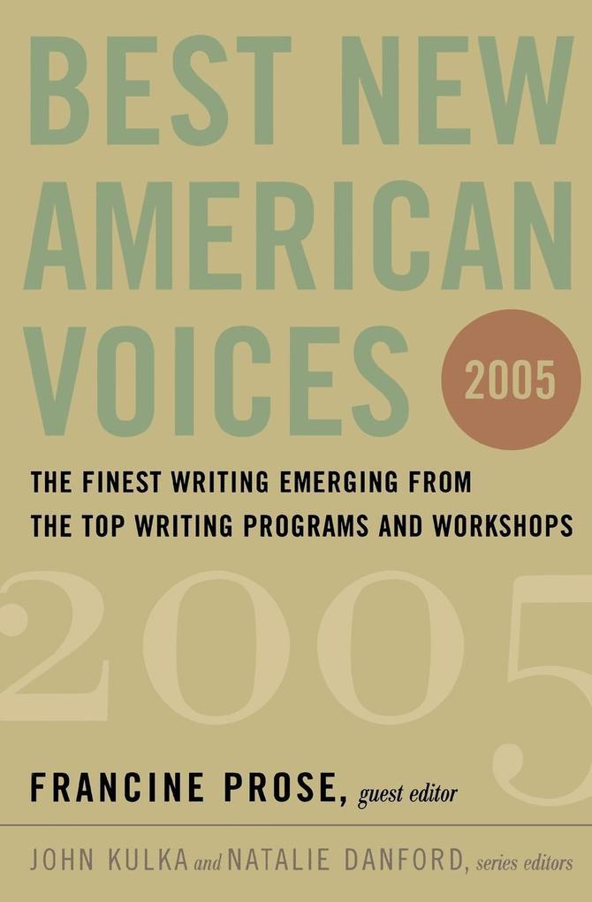 Best New American Voices als Taschenbuch