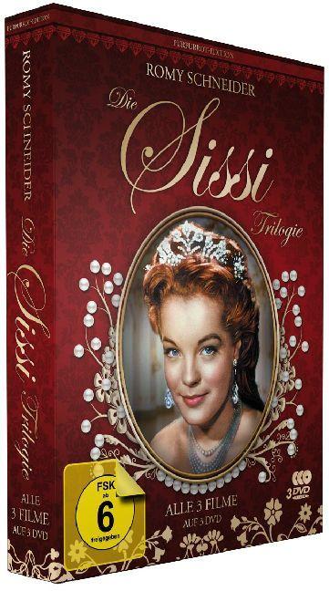 Sissi Trilogie - Purpurrot-Edition als DVD
