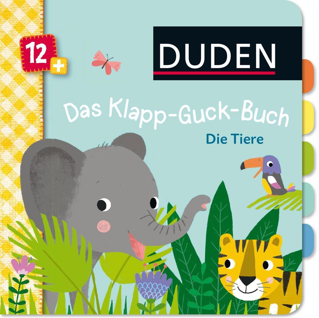 Duden 12+: Das Klapp-Guck-Buch: Die Tiere als Buch