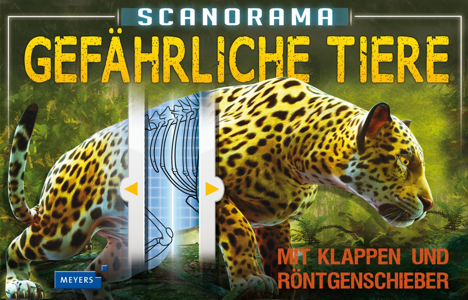 Scanorama: Gefährliche Tiere als Buch