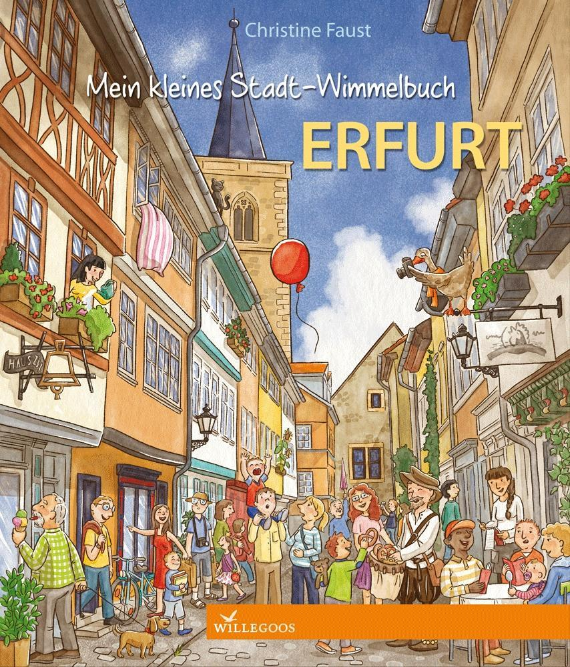 Mein kleines Stadt-Wimmelbuch Erfurt als Buch