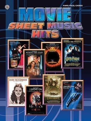 Movie Sheet Music Hits: Piano/Vocal/Chords als Taschenbuch