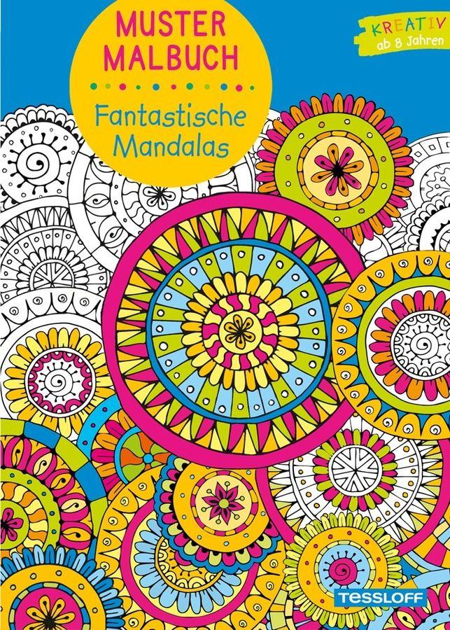 Mustermalbuch Fantastische Mandalas als Buch von