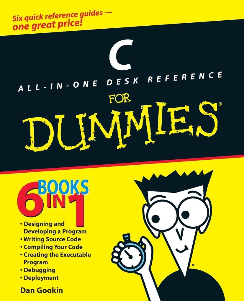 C All-in-One Desk Reference For Dummies als Buch