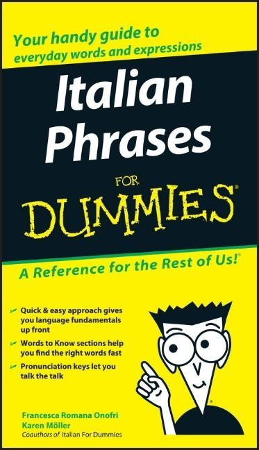 Italian Phrases For Dummies als Buch