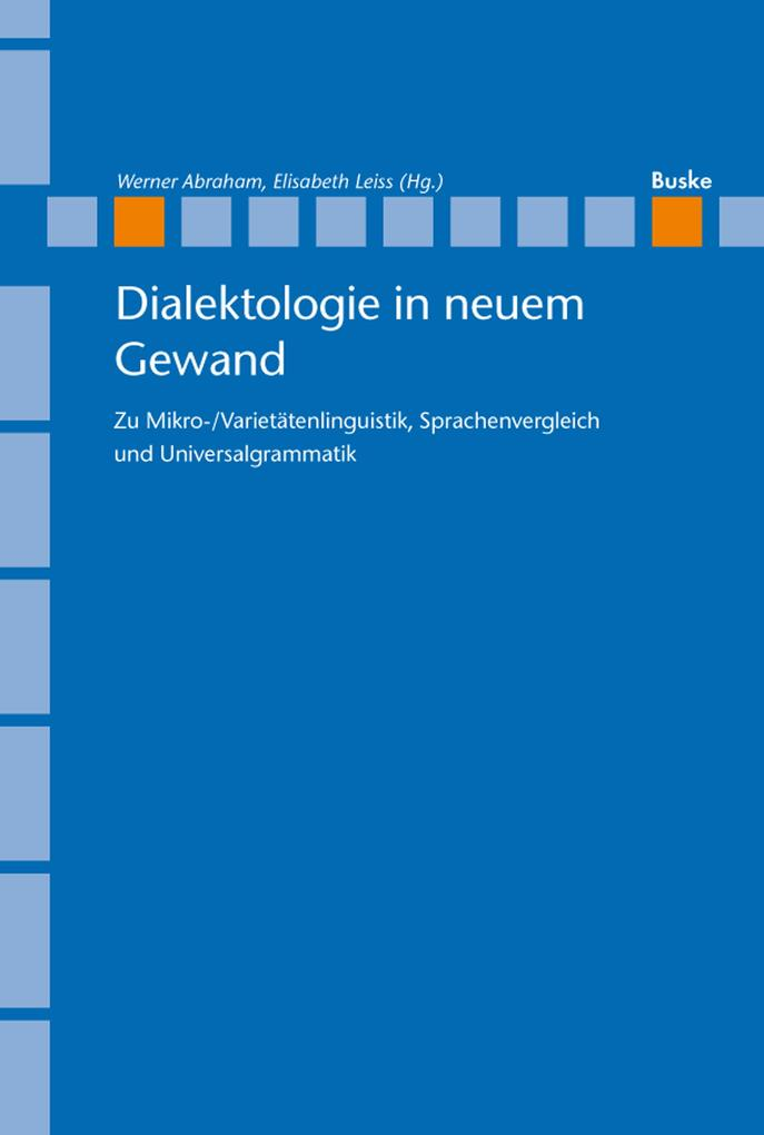 Dialektologie in neuem Gewand als eBook Downloa...