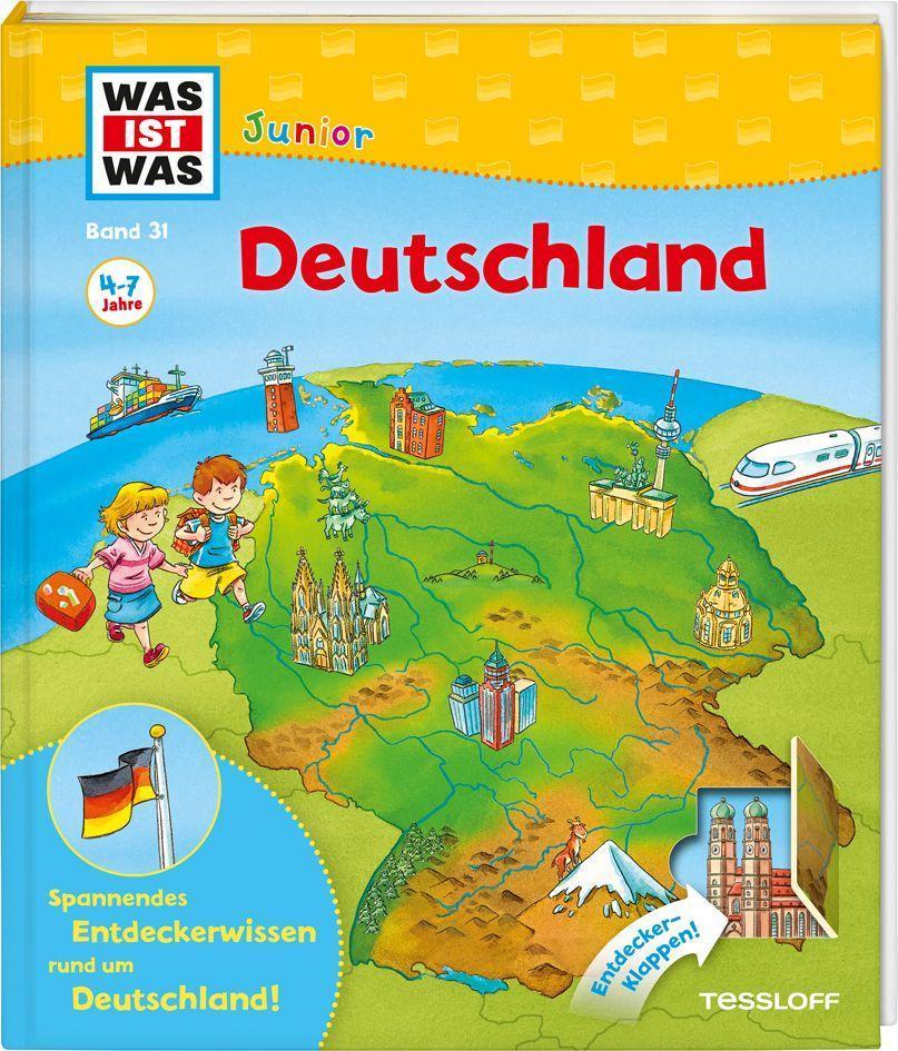 WAS IST WAS Junior Band 31. Deutschland als Buch