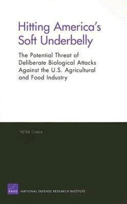 Hitting America's Soft Underbelly: The Potential Threat of Deliberate Biological Attacks Against the U.S. Agricultural and Food Industry als Taschenbuch