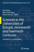Sciences in the Universities of Europe, Nineteenth and Twentieth Centuries