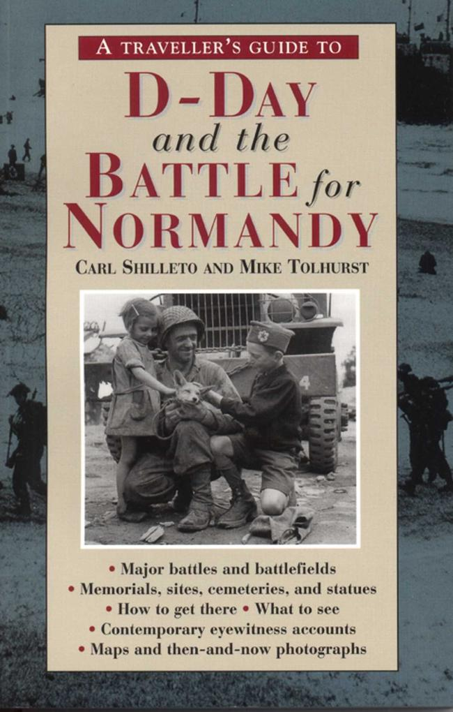 A Traveller's Guide to D-Day and the Battle for Normandy als Taschenbuch