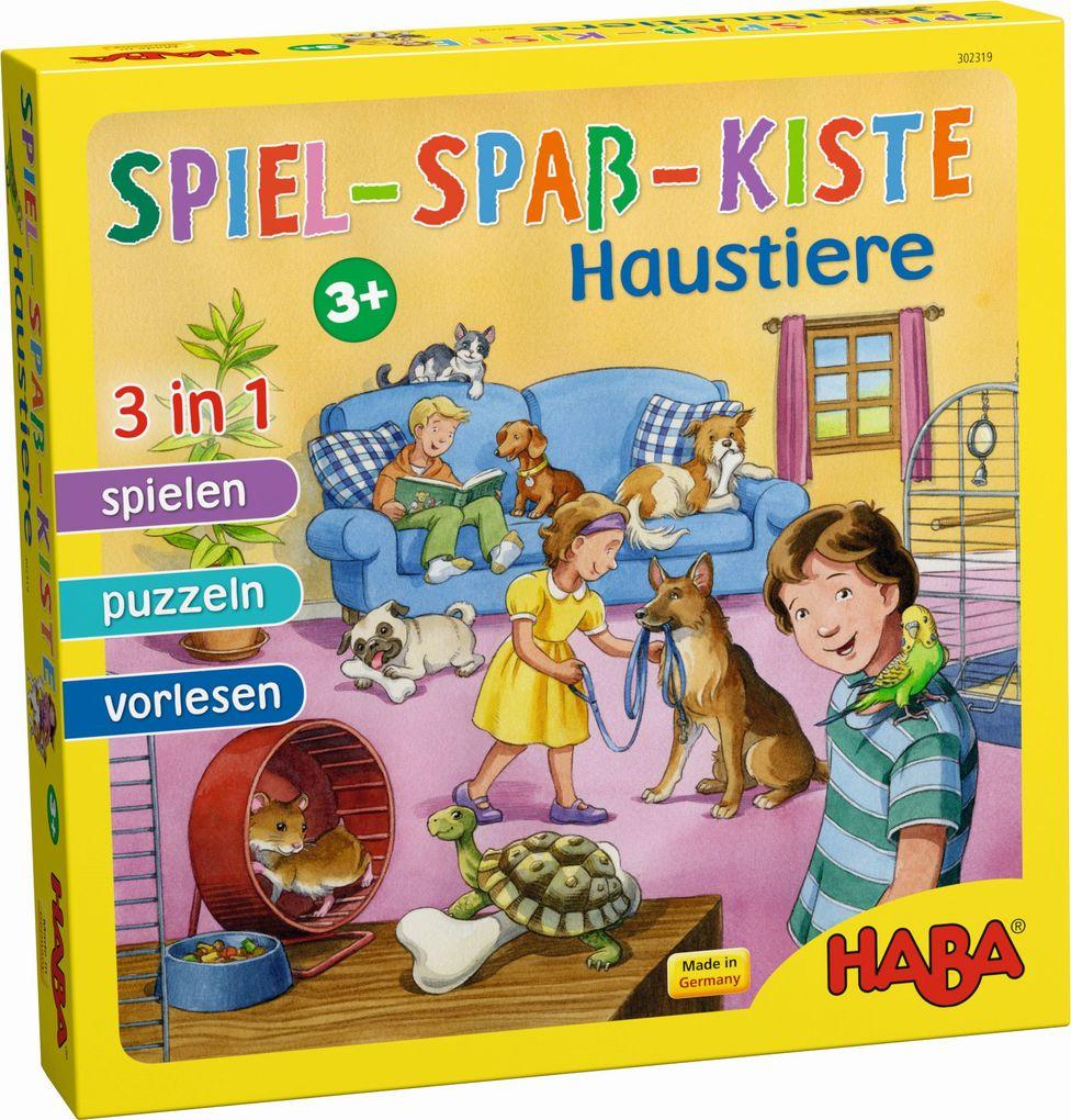 Spiel-Spaß-Kiste Haustiere