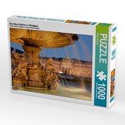 Das Neue Schloss in Stuttgart 1000 Teile Puzzle quer