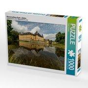 Wasserschloss Dyck, Jüchen 1000 Teile Puzzle quer