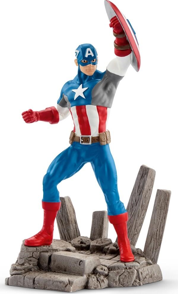 Schleich - Marvel - Captain America als Spielwaren