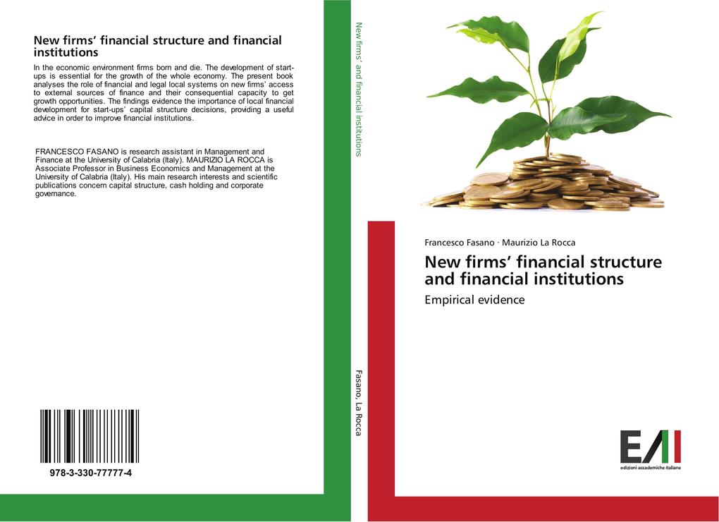 New firms´ financial structure and financial in...