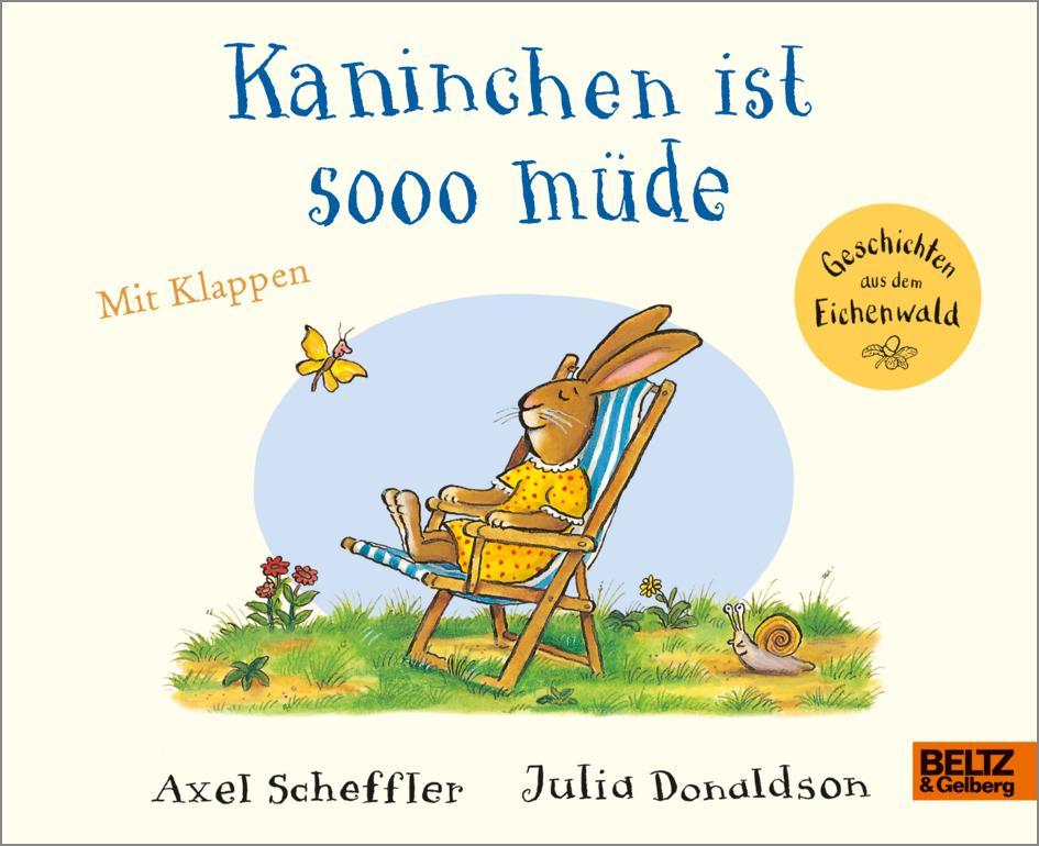 Kaninchen ist sooo müde als Buch