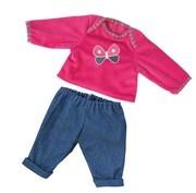 Bayer Design 8463800 - Kleidung für Puppen, Hose mit Shirt, circa 40-46 cm