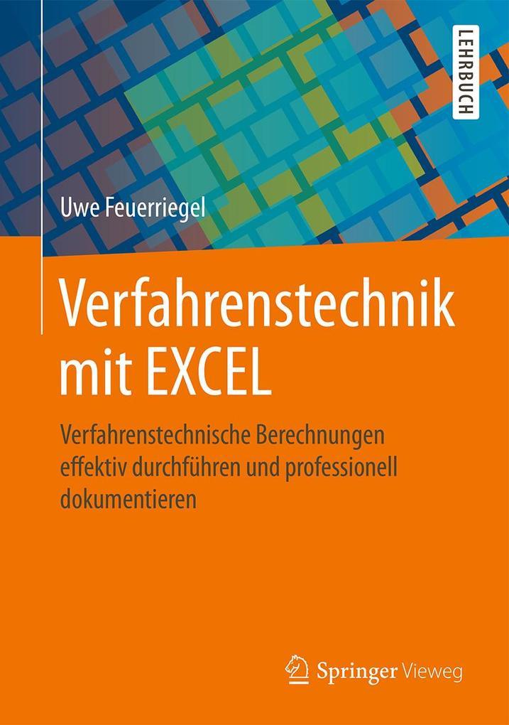 Verfahrenstechnik mit EXCEL als eBook Download ...