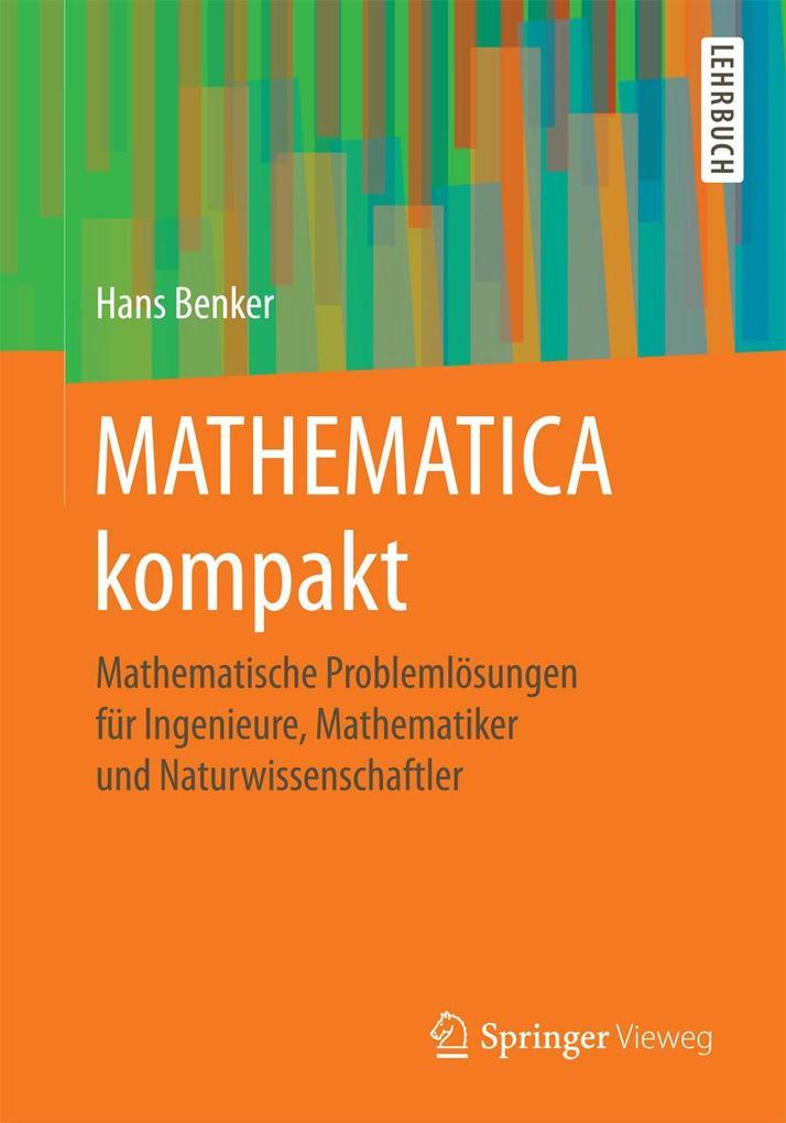 MATHEMATICA kompakt als eBook Download von Hans...