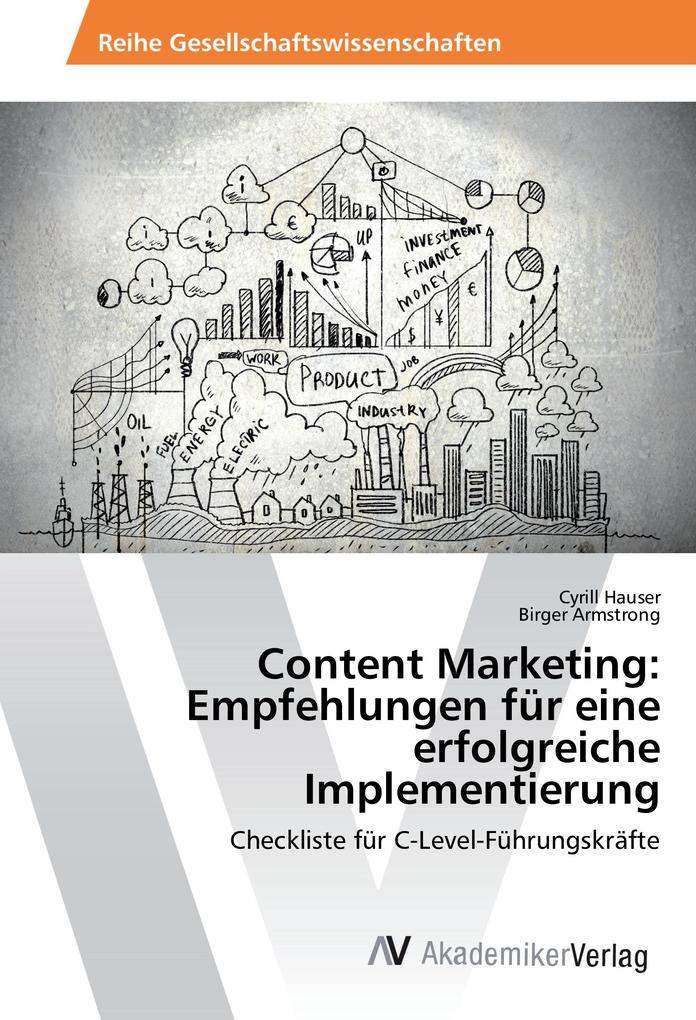 Content Marketing: Empfehlungen für eine erfolg...